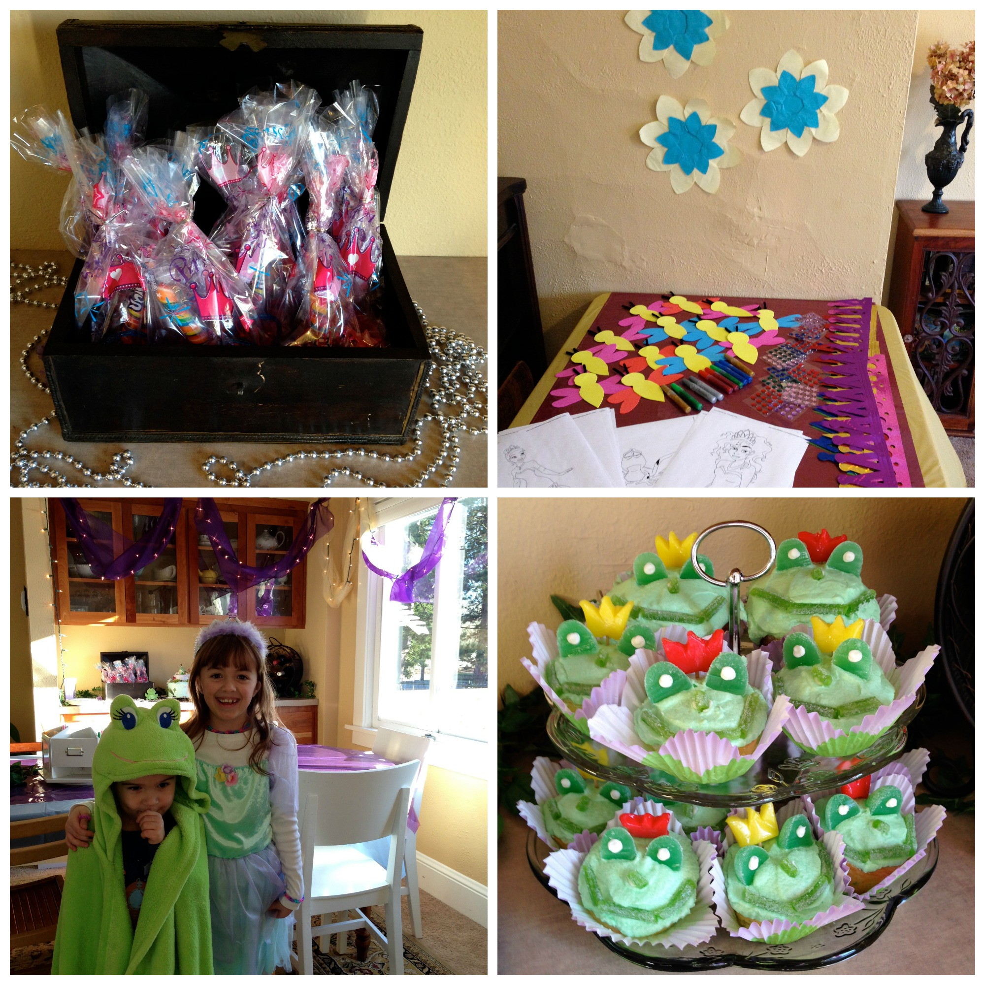 7th birthday collage