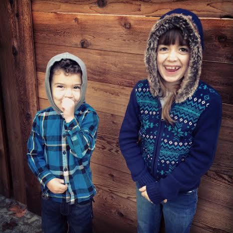 kids in hoods
