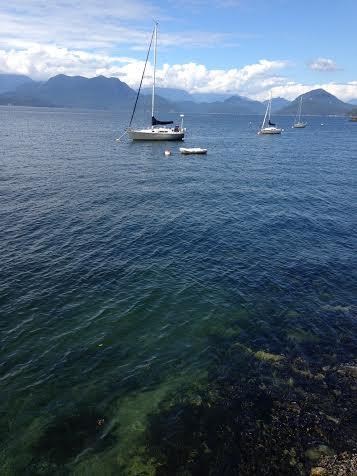 bowen island sail boats