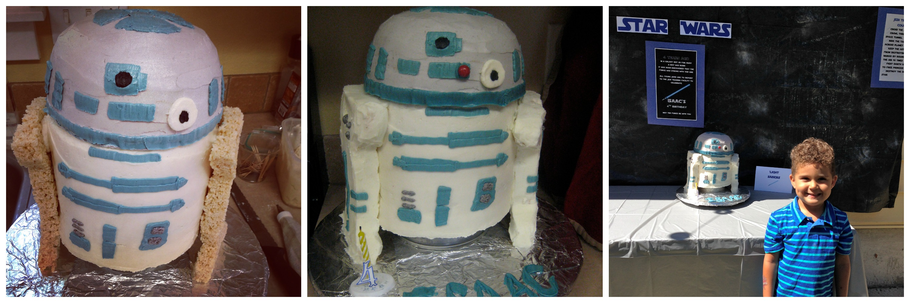 R2D2 cake collage2